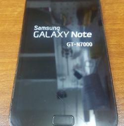Samsung Galaxy Note GT-N7000 (Parsing)