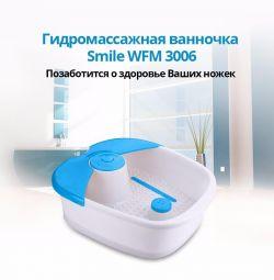 Hydromassage foot bath Smile WFM 3006