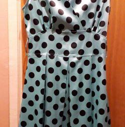 Νέο φόρεμα polka dot