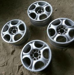 Alloy wheels R14 5 × 114.3 and 5 × 100