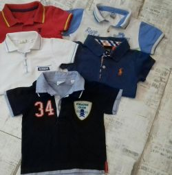 Polo shirts package