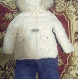 Костюм-комбінезон зимовий дитячий