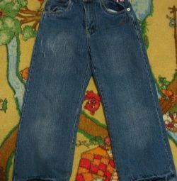 Утепленные джинсы (рост 116)