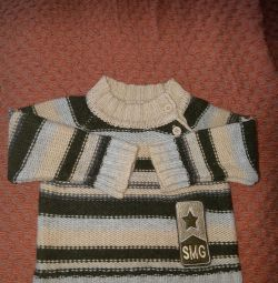 Children's sweater 2pcs. Size 6-9 months