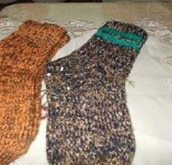 Ζεστές χειμωνιάτικες κάλτσες