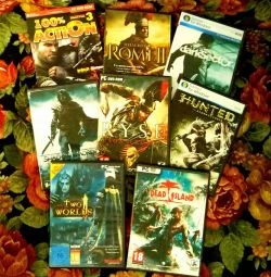 Computer Games for PC DVD