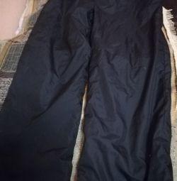 Παντελόνια νέα για την πτώση για το κορίτσι στο μέγεθος fleece 34