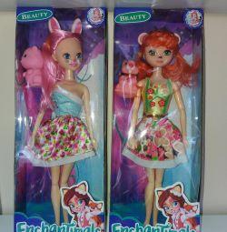 Enchanchimals doll, Monster High, Super cat