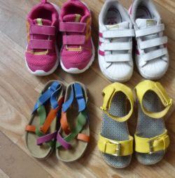 Sneakers \\ Branded Sandals