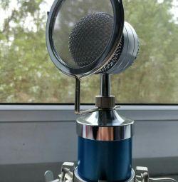 Microfon condensator BM-8000 cu metal