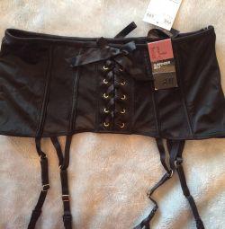 New H & M Garter Belt