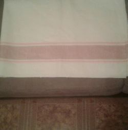 Tablecloth flax of the USSR