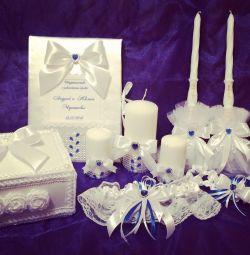 Весільний набір аксесуари