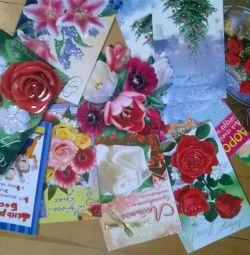 Herhangi bir tatil için yeni kartpostallar