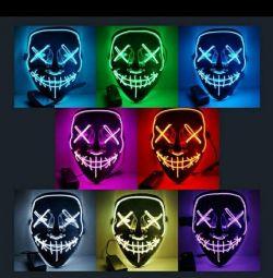 Neon masks