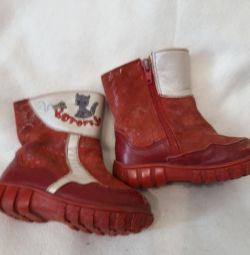 Boots and shoes size 22
