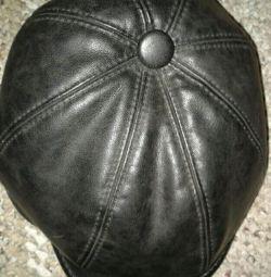 Δερμάτινο καπέλο bu