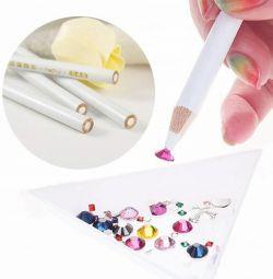 Creion de stras + ascutitor