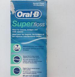 Зубные нити (Superfloss) Oral-B