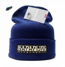 Pălărie Napapijri Geographic (albastru închis)