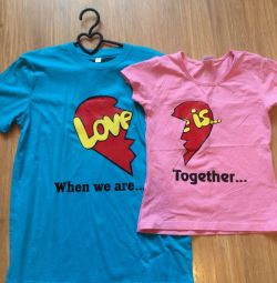 Paired t-shirts