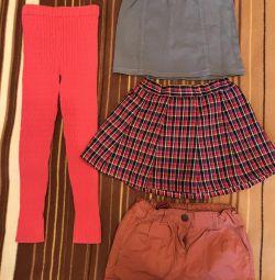 Ρούχα για κορίτσια 3-4 ετών, μέρος 2