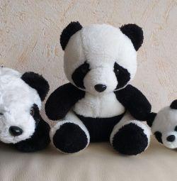 Familia Pandas 🐨 3 buc. Preț pentru orice.