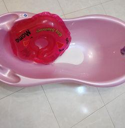 Μπάνιο + κολύμπι κύκλο