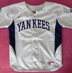 Χρησιμοποιημένο μπλουζάκι μπέιζμπολ nike yankees 13 rodriguez