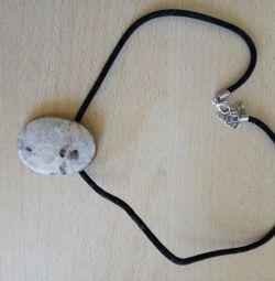 Підвіска з натуральним каменем