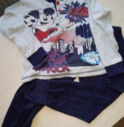 3-4 ani pijamale