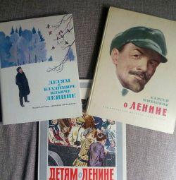 Children's books about Lenin (1977 and 1987)