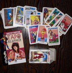 Tarot cards + book on Tarot cards.