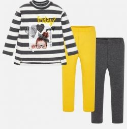 Jumper +2 pairs of leggings