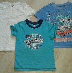 T-shirts for the boy ..