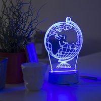 Λυχνία 3D (νυχτερινό φως) Μεταφορά χωρίς σφαίρα