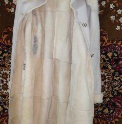 Sheepskin coat female Fey Pelle Italy