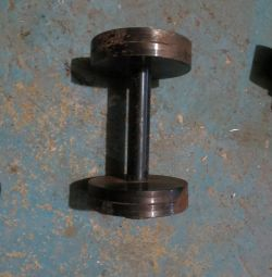 Dumbbell 6 kg collapsible steel and 10 kg cast iron