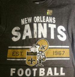 Tricou de la noua echipă NFL New Orleans Saints