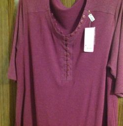 New tunic p 62 half-woolen