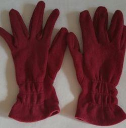 рукавички теплі