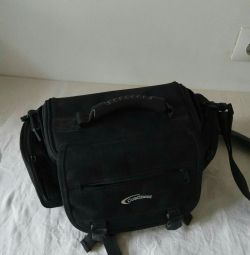 Case bag for camera, camera