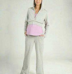 Kit pentru femei gravide trei articole (pantaloni