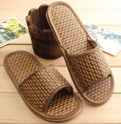 Slippers for men, 37 size. New ones.