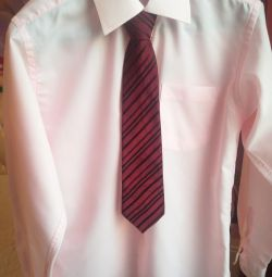 Shirt + tie as a gift