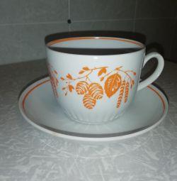Cupe sovietice cu farfurioare