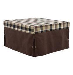 BEDROOM BED 75.5x75.5xY47cm. CU CĂPTUL DE CAFEA DE CAFE