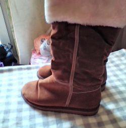Οι μπότες είναι τεχνητές. Zamzh