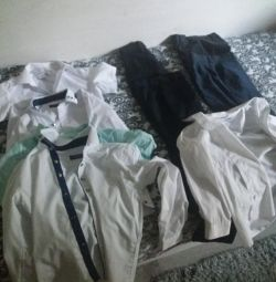 school trousers and shirts