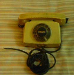 Apelați telefonul bulgară vintage